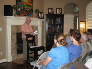 Bob Rees speaks to Miller Eccles Study Group Texas on June 23, 2012.