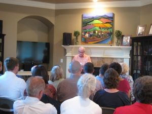 Bob Rees speaks at Miller Eccles Study Group Texas in Arlington on June 23, 2012.