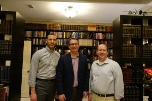Adam Miller, Paul Reeve, and Cris Baird. February 20, 2016.